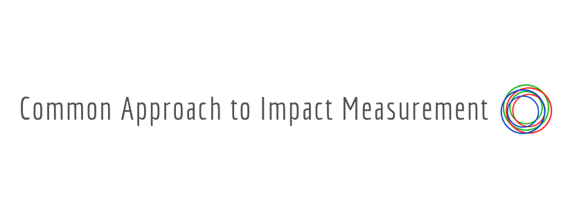 Logo for Common Approach to Impact Measurement