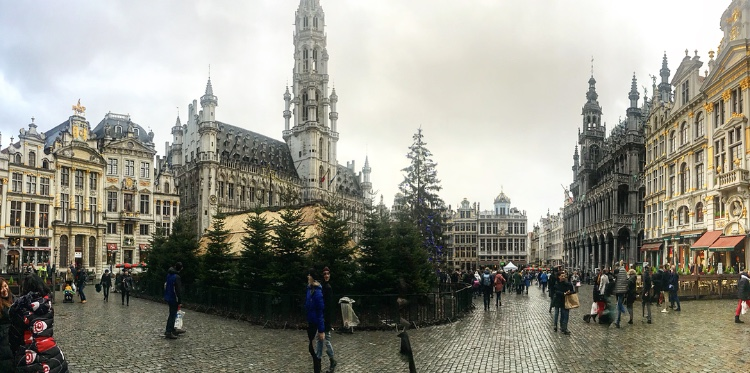 a view of the Grand Place