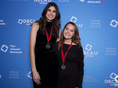 Photo for the news post: Carleton DECA has record performance at DECA U Provincials