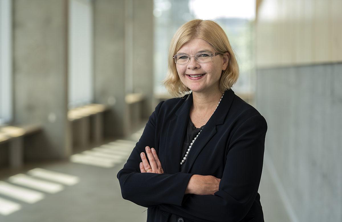 Professor Dana Brown, dean of the Sprott School of Business