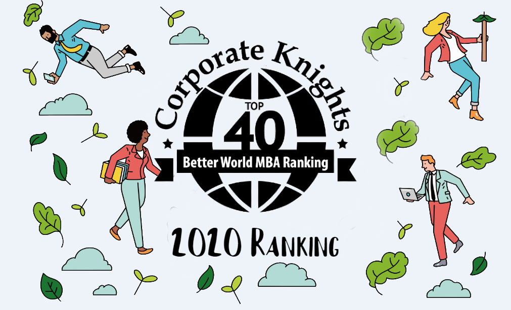 Corporate Knights Top 40 Better World MBA Ranking 2020