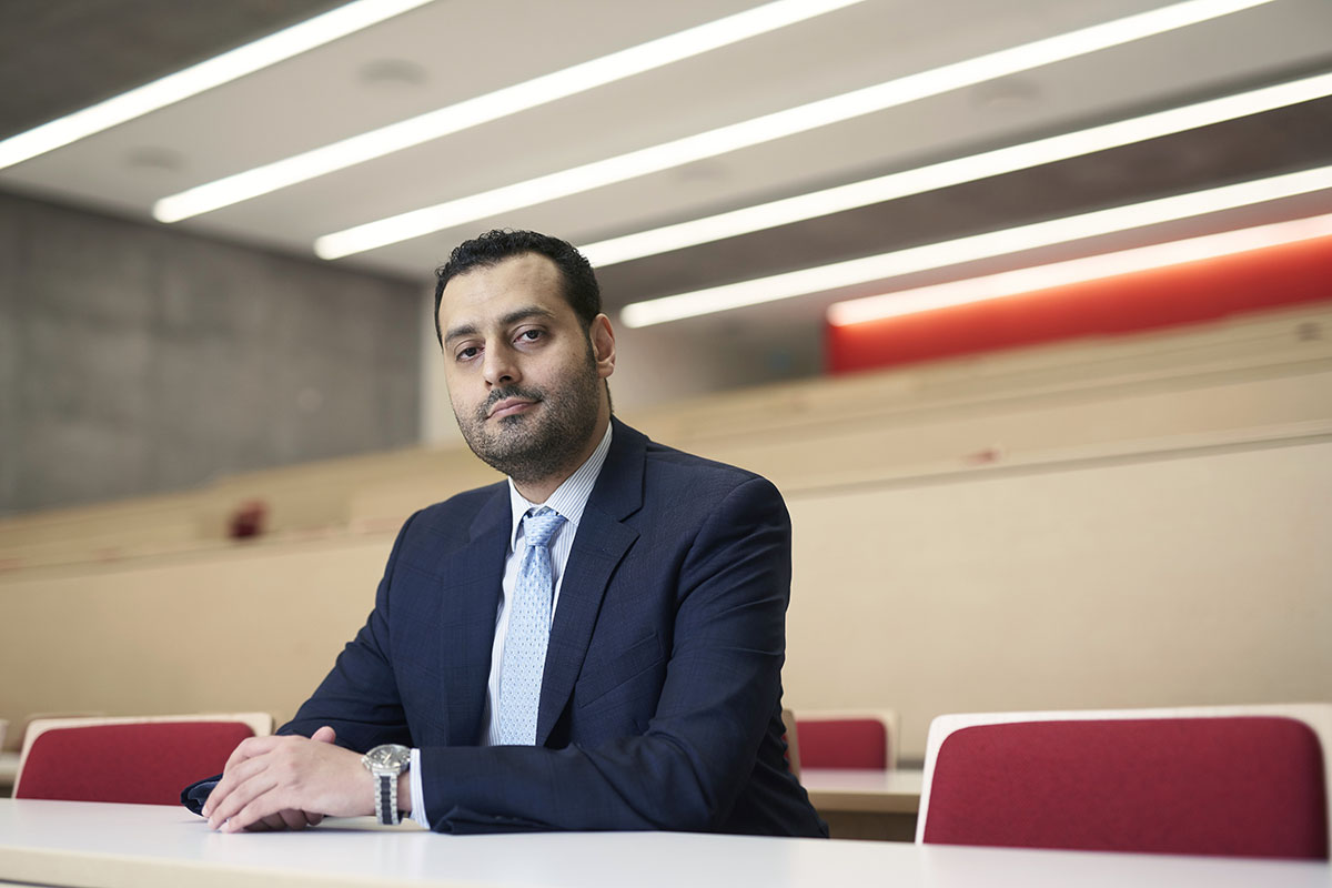 Finance Professor Mohamed Al Guindy