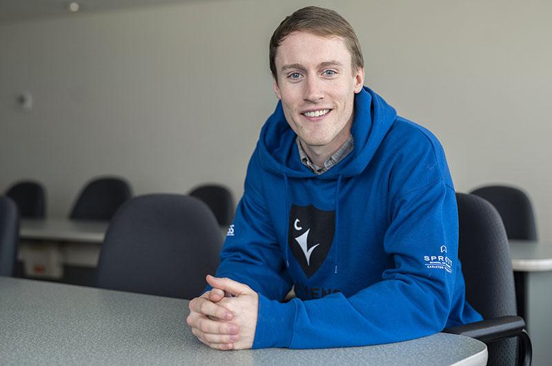 Sprott MBA student Michael Nimmo