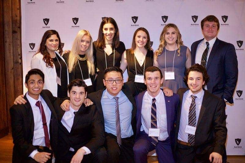 a group shot of the SMSA Executive team in business attire