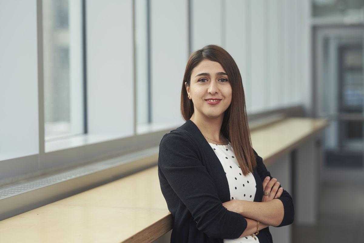Portrait of Samira Farivar