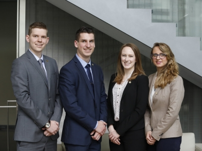 Photo for the news post: Sprott Competes wins Van Berkom JMSB Case Competition