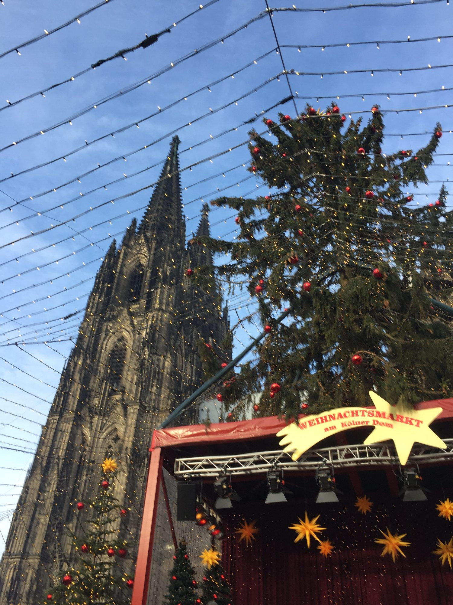 My favourite Christmas market in Cologne, I think the Germans do Christmas food the best.