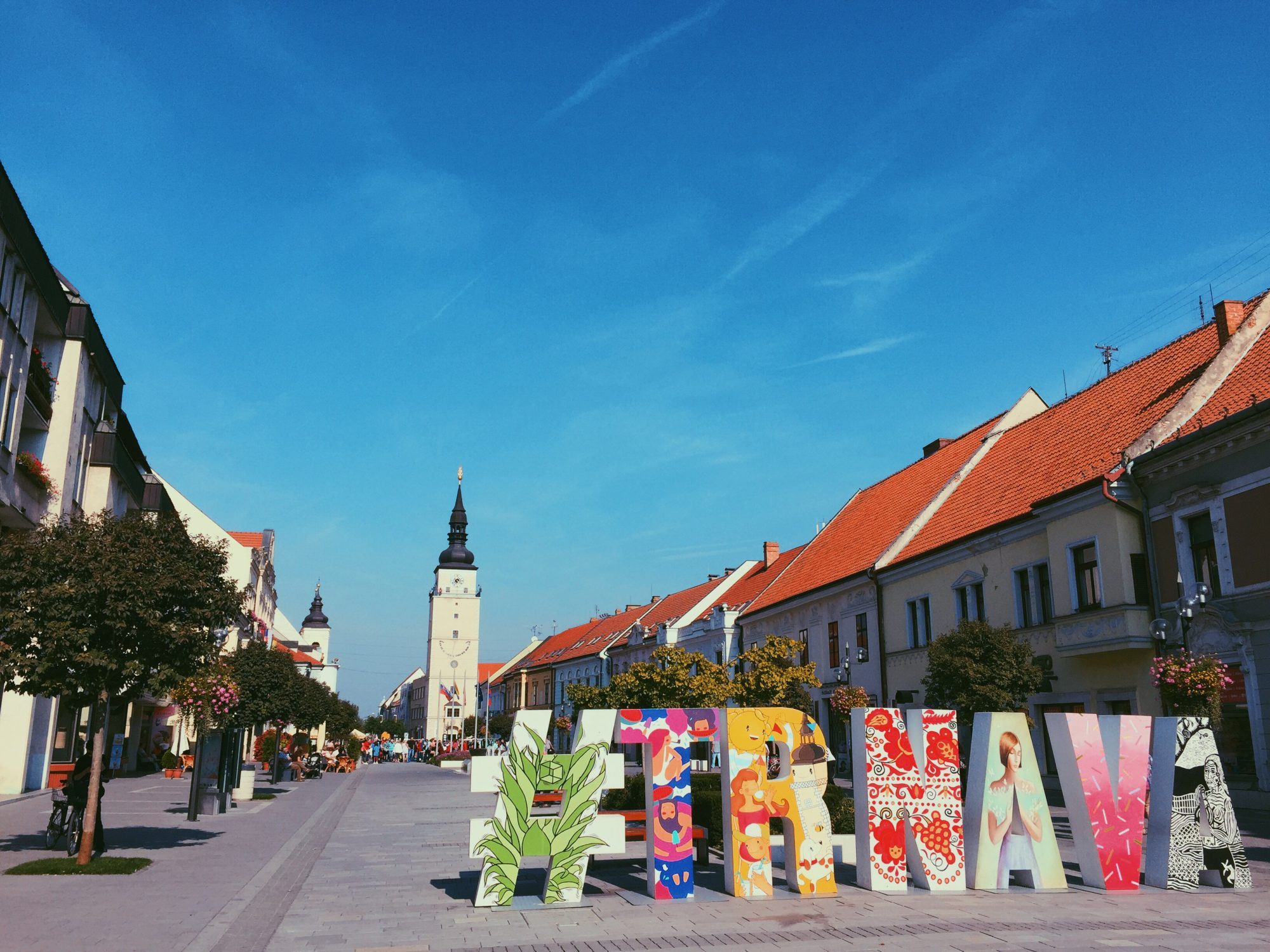 My family's hometown Trnava in Slovakia. Trnava is nicknamed Little Rome because there are so many churches in town.